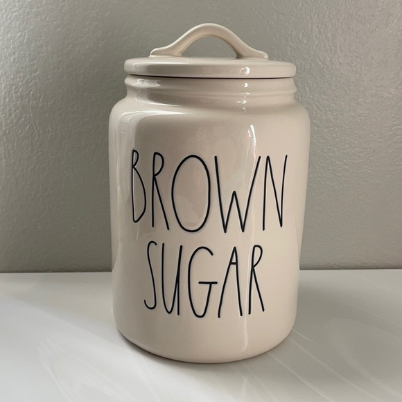 🌿Rae Dunn Brown sugar large canister